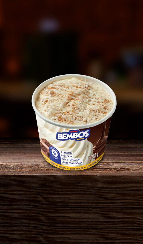 Helado Leche Condensada Nestle 0.5Lt